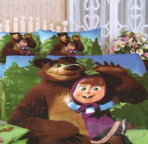 Комплект постельного белья для детей и подростков.