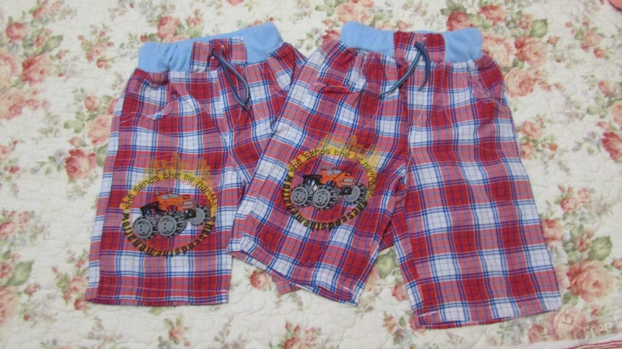 шорты на мальчика на 1- 2 года