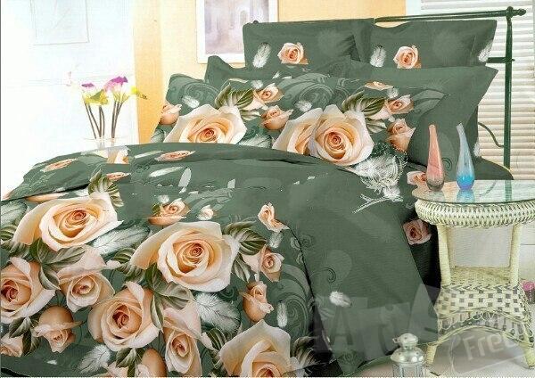 Постельное 3Д Розы