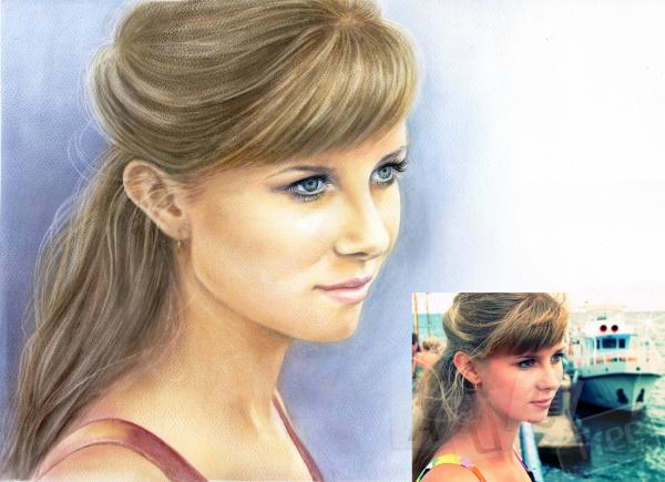 Портрет по фото и картины маслом