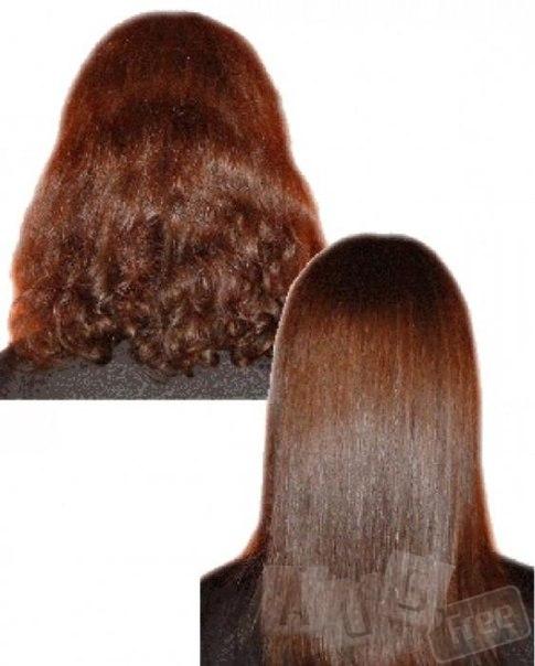 Кератинирование волос.