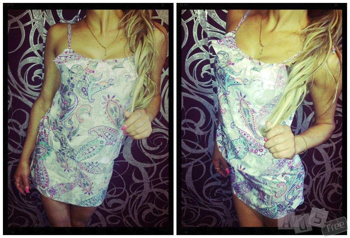 Стильное новое платье
