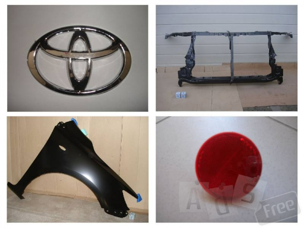 Запчасти на Toyota Corolla 07-