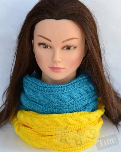 Шарф снуд шарф хомут