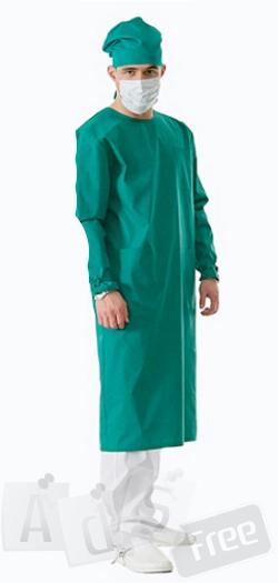 Хирургический халат новый мужской