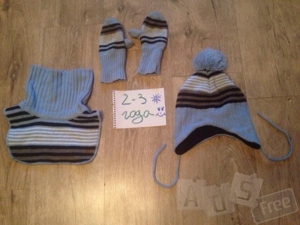 набор, рукавички, шапка,шарф-горло