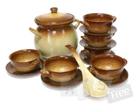 Набор столовый из жаропрочной керамики 15-предметный