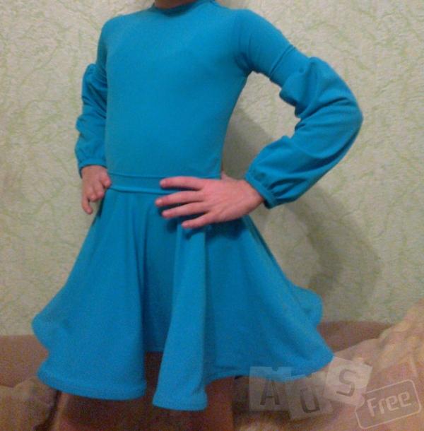 Платье бальное бейзик
