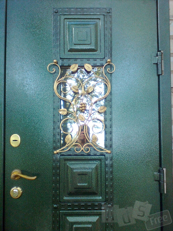 Изготовим красивые входные двери
