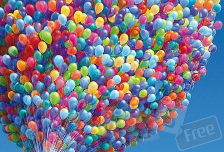 Печать на воздушных шариках.