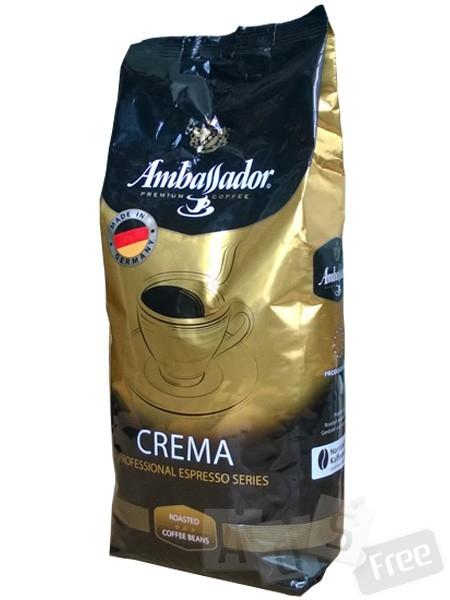 Продажа кофе Ambassador Crema 1 кг