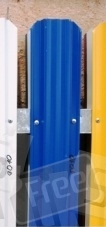 Штакетник металлический ширина 115мм