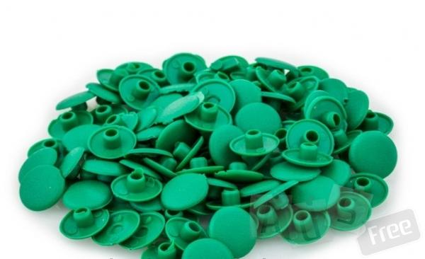 Заглушки для саморезов зеленые