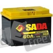 Аккумулятор 60 Ач  Sada Standard