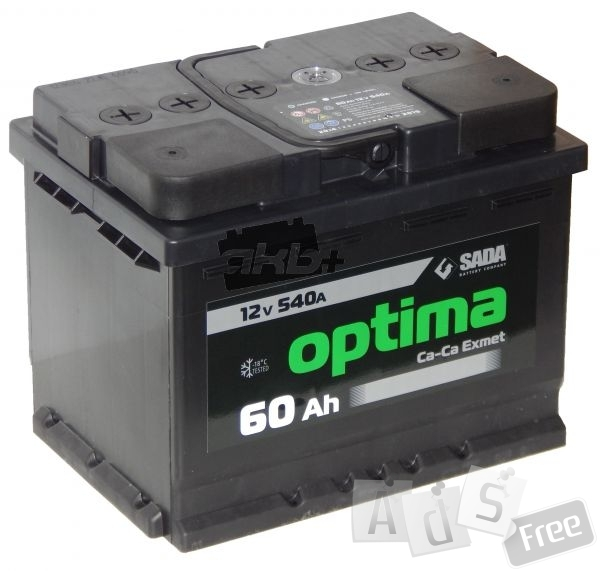 Аккумулятор 60 Ач Optima
