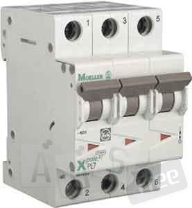 Автоматический выключатель PL6-C16⁄3