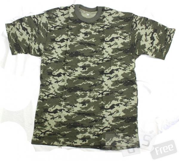 футболки камуфляжные/однотонные