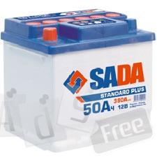 Аккумулятор 6СТ-50 Sada SP