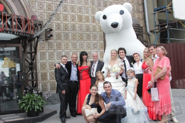 Медведь сделает праздник незабываемым