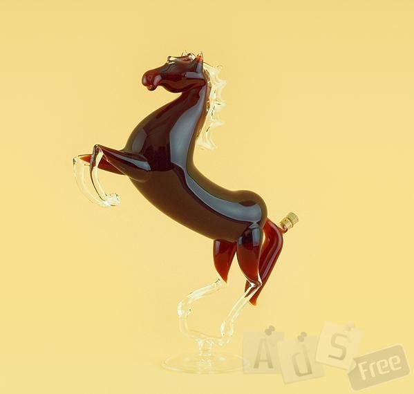 Элитный подарок - Лошадь(стекло)