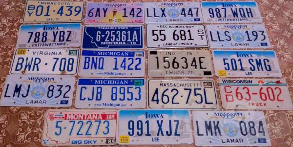 изготовим Автомобильные номера из США.