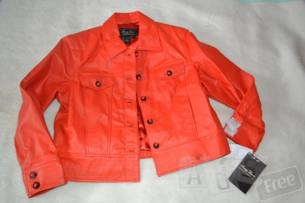 кожаная куртка на весну Terry Lewis екск