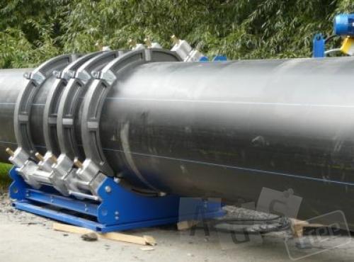 Сварка полиэтиленовых труб ПЭ 90-630мм