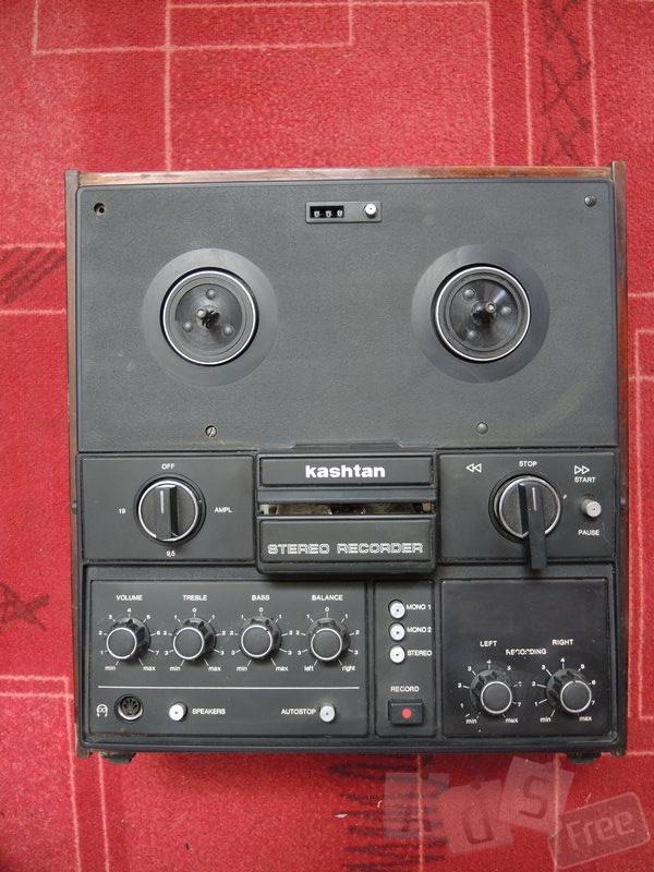 Стереомагнитофон «Каштан» 1983 г.