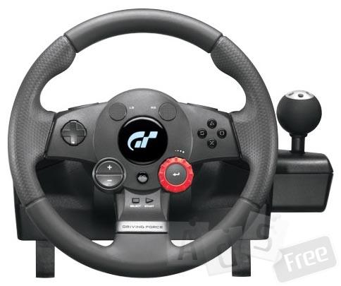 Игровой руль Logitech driving force gt