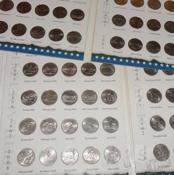 коллекция Монет 25 Центов США