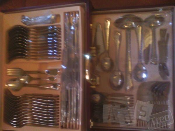 Продам столовый набор,нер.сталь.Германия