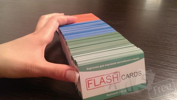 Набор флэш-карточек для изучения англий