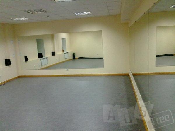 Залы для танцев, йоги, фитнеса