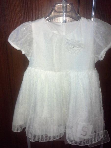 Детское милое платье