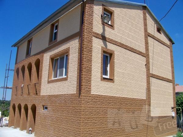 Фасадные плитки Азстром - утепление дома