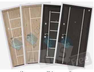 Бронированные двери ТМ Саган