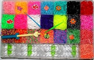 Набор резиночек для плетения 6200 шт