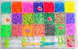 Набор резинк для плетения Rainbow 4200шт