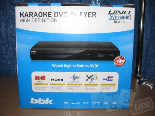 ДВД проигрыватель BBK DVP 759 HD
