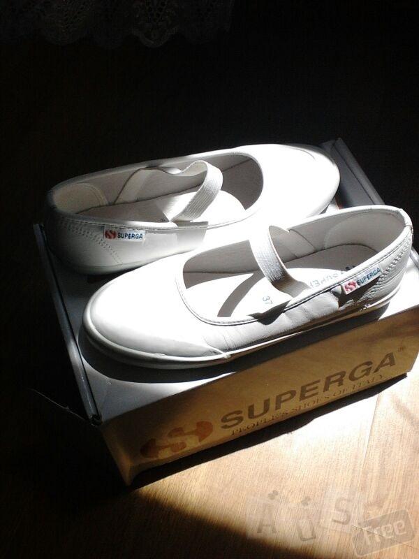 Летние спортивные туфли SUPERGA