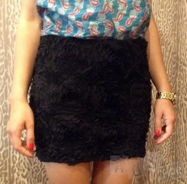 Объемная, кружевная юбка