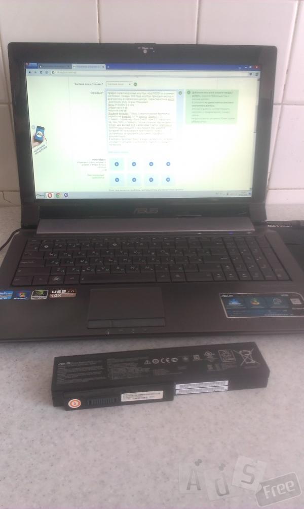 Продам ноутбук Asus N53SV