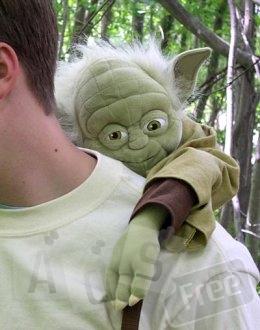 Прикольный рюкзак Йода Звездные войны