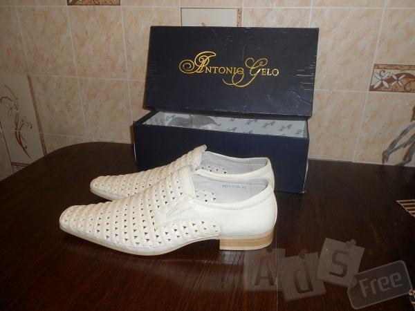 Новые мужские кожаные туфли