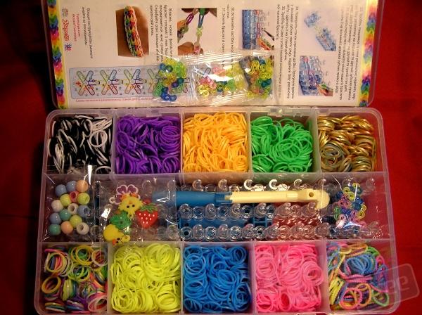 Резинки для плетения браслетов 3000шт