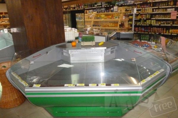 открытые холодильники для супермаркета