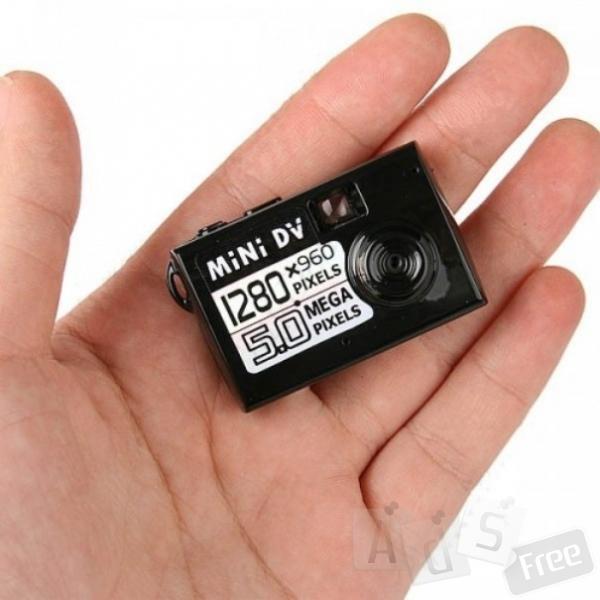 Мини видеокамера Mini DV 1280*960