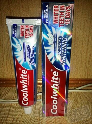 Зубная паста.