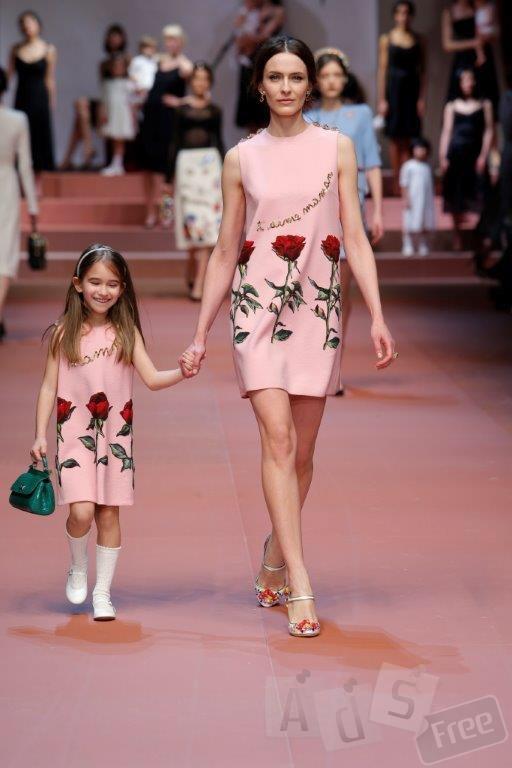 Стильна сукня для мами та доці