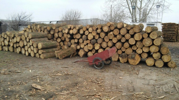 Продажа дров круглого леса.